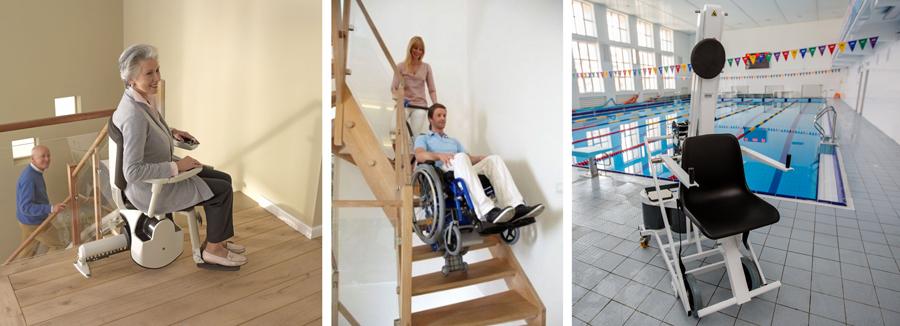 Размер подъемника для инвалидов